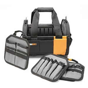 """ToughBuilt - 12"""" Modular Tote Tool Bag   61 Pockets and Loops, Electrical/Maintenance Tool Carrier, for $66"""
