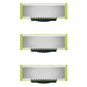 Philips Norelco OneBlade Replacement Blades 3-Pack for $35