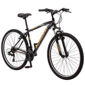 "Schwinn Men's 27.5"" High Timber Front-Suspension Mountain Bike for $468"