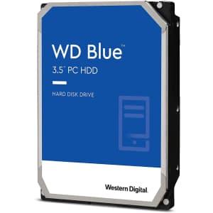 "WD Blue 4TB 3.5"" SATA 6Gbps Internal Hard Drive for $158"