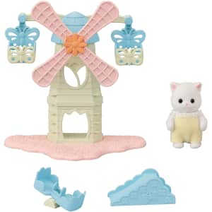 Calico Critters Baby Windmill Park for $10