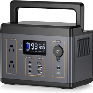 ORHFS 300W Portable Power Station for $104