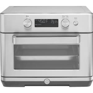 GE 8-in-1 Stainless Steel Digital Air Fry Convection Toaster Oven for $179 in cart
