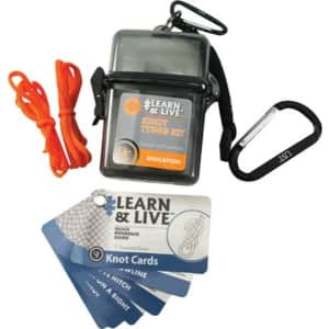 ust Learn & Live Knot Tying Kit for $7