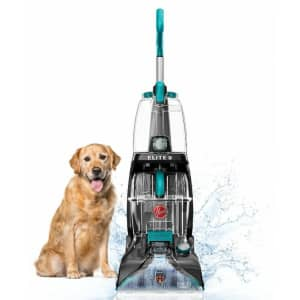 Hoover Power Scrub Elite Carpet Cleaner with HeatForce for $100