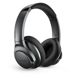 Anker Soundcore Life Q20 Bluetooth Headphones with Travel Case, Hybrid Active Noise Cancelling, 40H for $60