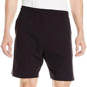 Hanes Men's Jersey Pocket Short for $10