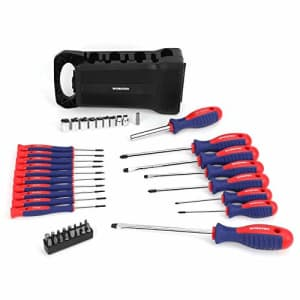 WORKPRO 45-Piece Magnetic Screwdriver Set- Precision, Slotted & Phillips Screwdriver Kit Includes for $41