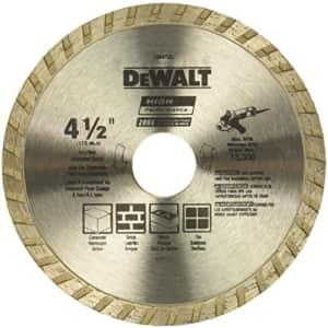 DeWalt Diamond Blade for $5