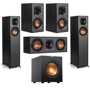Klipsch R-610F Floorstanding Speaker Bundle for $599