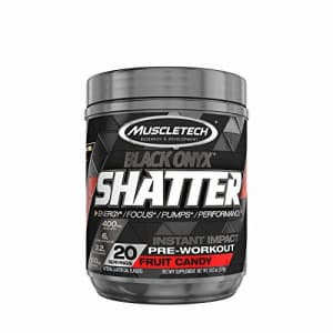 MuscleTech Shatter Black Onyx - Fruit Candy for $24