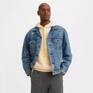 Levi's Men's Vintage Fit Trucker Jacket for $31
