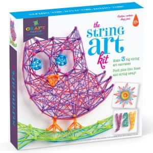 Craft-tastic String Art Kit: Owl Edition for $12