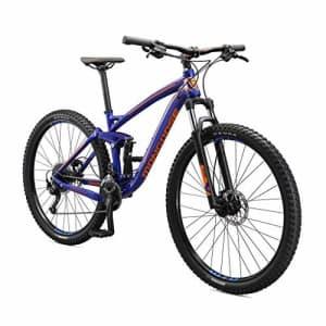 Mongoose Salvo Trail Mountain Bike, 9-Speed, 29-inch Wheel, Mens Medium, Blue (M22350M10MD-PC) for $2,525