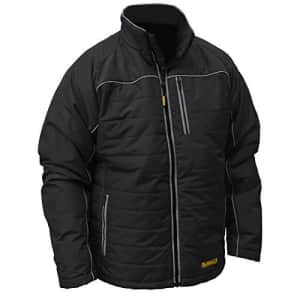 DEWALT DCHJ075D1-M Heated Quilted Soft Shell Jacket, M, Black for $198