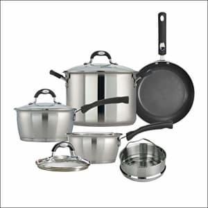 Tramontina Kitchen Essentials Cookware Set 8 PC, 80198/003DS for $42
