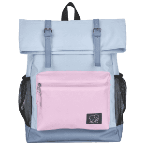 """Conair Ivory Ella 16"""" Rollover Backpack for $14"""