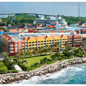 4-Night Curaçao Resort & Casino Stay in Oceanview Room at Travelzoo: from $599 for 2