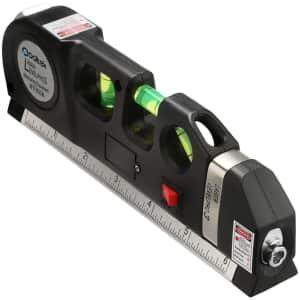 Qooltek Multipurpose Laser Level for $12 w/ Prime