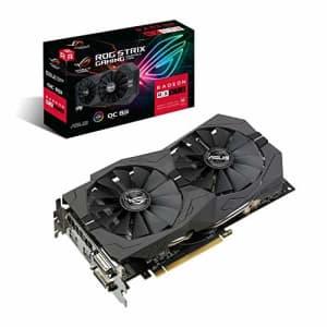 Asus ASUS ROG Strix Radeon RX570 O8G Gaming GDDR5 DP HDMI DVI VR Ready AMD Graphics Card for $158