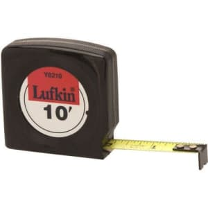 Lufkin Y8210 10' Economy Tape Measure for $37