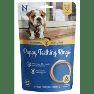 N-Bone Puppy Teething Ring 6-Pack for $9