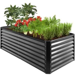 Best Choice 6-Ft. Metal Raised Garden Bed for $120