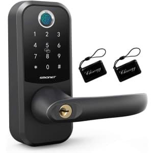 SMONET Fingerprint Door Lock for $135