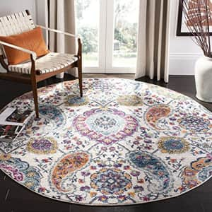 Safavieh Madison Collection MAD600B Boho Chic Glam Paisley Non-Shedding Dining Room Entryway Foyer for $61