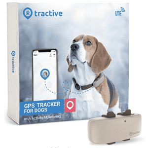 Tractive Dog & Cat GPS Tracker for $91