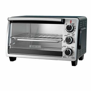 Black + Decker BLACK+DECKER TO1950SBD 6-Slice Convection Countertop Toaster Oven, Includes Bake Pan, Broil Rack & for $69