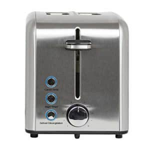 Kalorik 2-Slice Rapid Toaster, Stainless Steel for $39