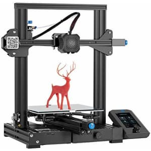 Creality Official Ender 3 V2 3D Printer with MeanWell Power Supply Upgraded Version of Ender 3 Pro for $279