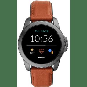 Fossil Men's Gen 5E 44mm Stainless Steel Smartwatch for $159