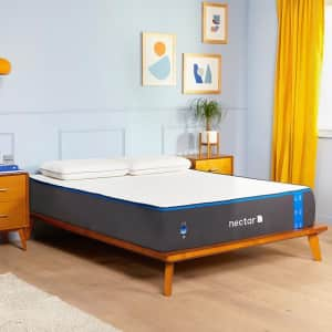 Nectar Labor Day Mattress Sale at nectar: Up to 33% off + $399 in accessories