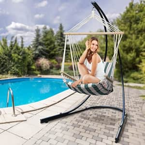 Sorbus Hammock Chair Stand for Hanging Chairs, Swings, Loungers, 330 Pound Capacity, Perfect for for $150