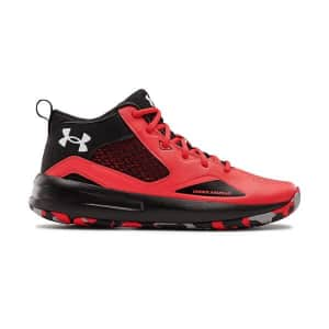 Under Armour Men's Lockdown 5 Basketball Shoes for $35