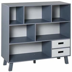 HOMCOM 3-Tier Child Bookcase Open Shelves Cabinet Floor Standing Home Office Storage Furniture for $130