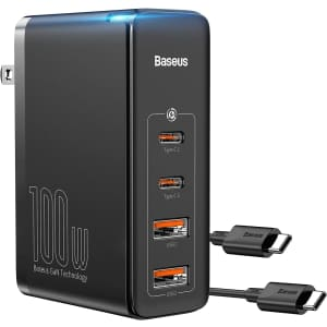 Baseus 100W USB-C Charger for $25