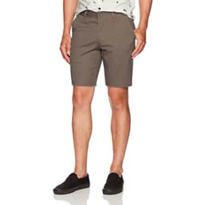 Brixton Men's Toil II Standard Fit Chino Shorts, Graphite, 30 for $43