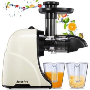 Helthtex JuicePro Cold Press Masticating Juicer for $40