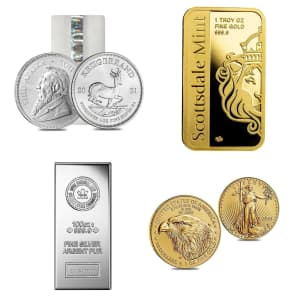 Coins and Bullion at eBay: Up to 78% off