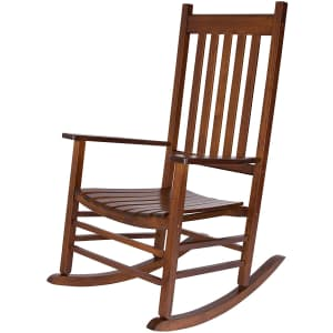 Shine Company Inc. Vermont Oak Rocking Chair for $140