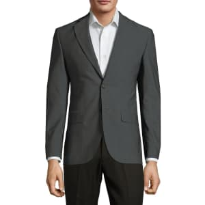 Saks Fifth Avenue Men's Classic Wool Jacket for $38