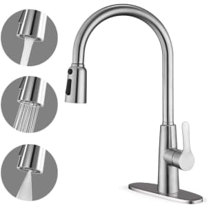 Corysel Single Handle Kitchen Faucet for $90