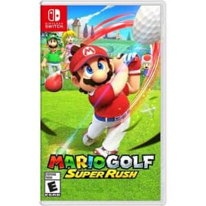 Mario Golf Super Rush for Nintendo Switch for $49