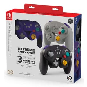 PowerA GameCube Style Controller for Switch 3-Pack for $120