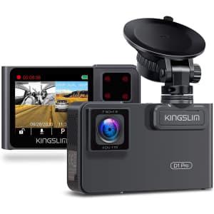 Kingslim 1080p Dual Dash Cam for $110