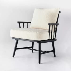 Threshold designed with Studio McGee Taylorsville Spindle Accent Chair for $175