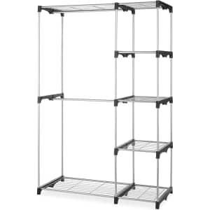 Whitmor Double Rod Freestanding Closet Storage Organizer for $39 w/ mail-in rebate